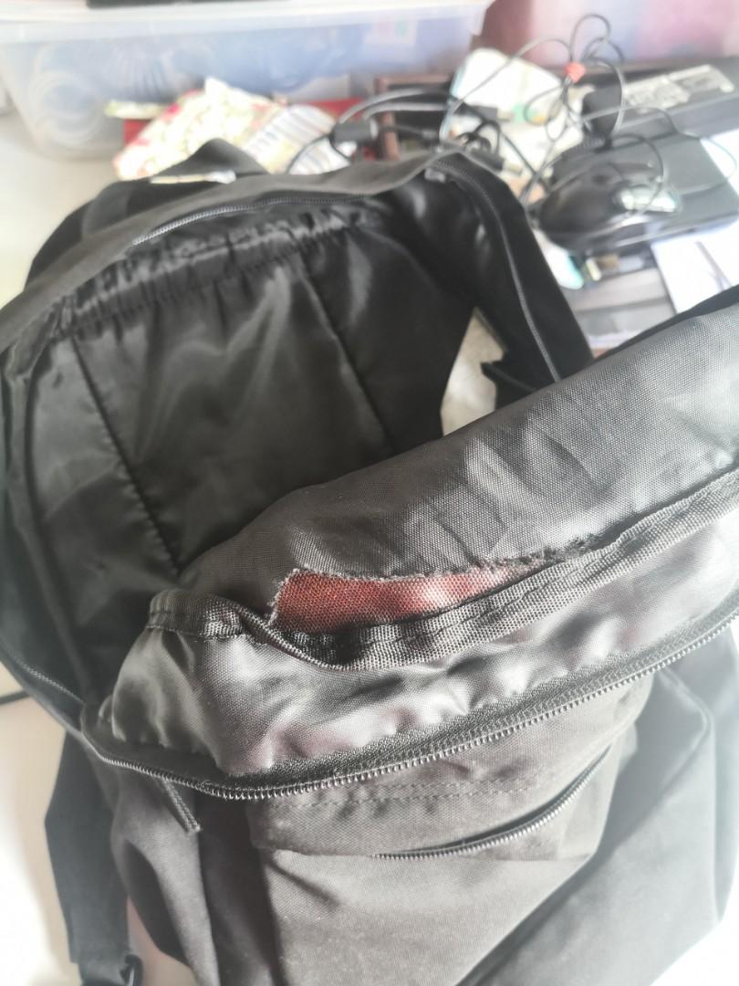 Black Jansport backpack, Luxury, Bags & Wallets, Backpacks