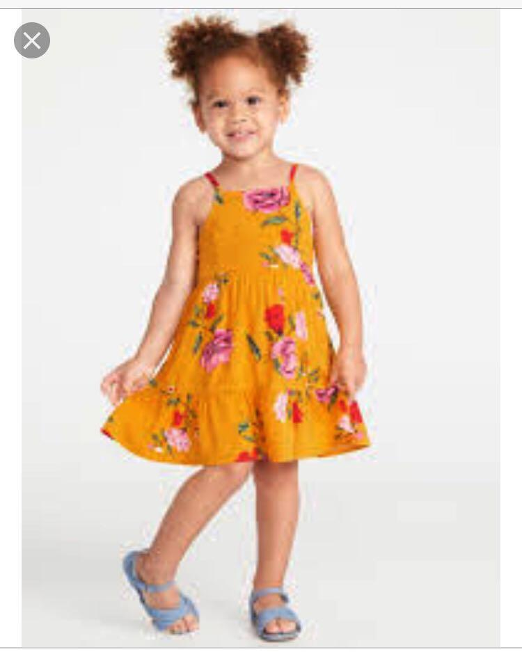 Floral Cami Dress for Toddler Girls!