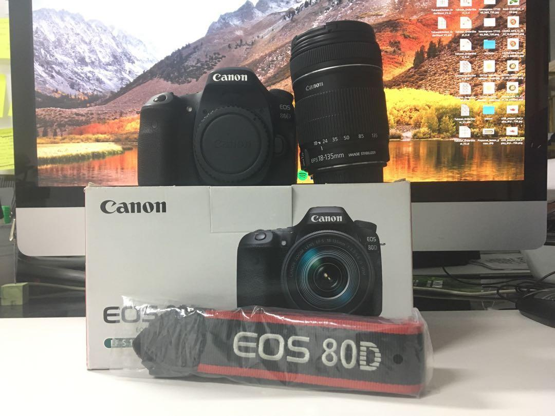 Canon 80D with 18-135mm, Photography, Cameras, DSLR on Carousell