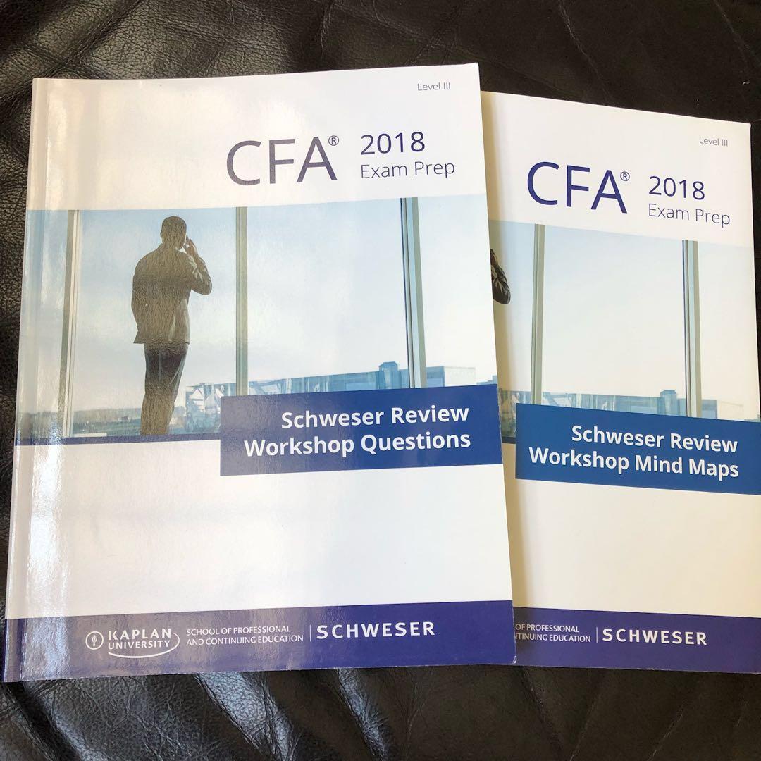 CFA Level 3 Schweser 2018 Hardcopy Books, Books & Stationery