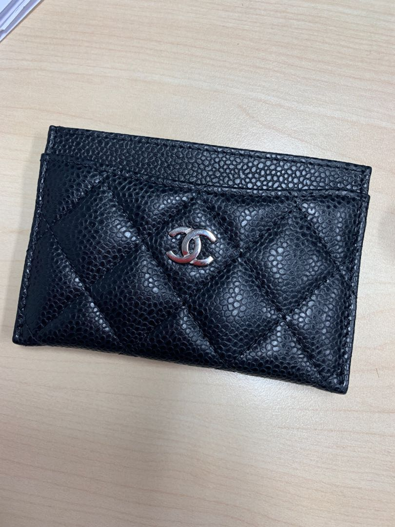 ab88ee3f58b6 Chanel Card Holder, Luxury, Bags & Wallets, Wallets on Carousell