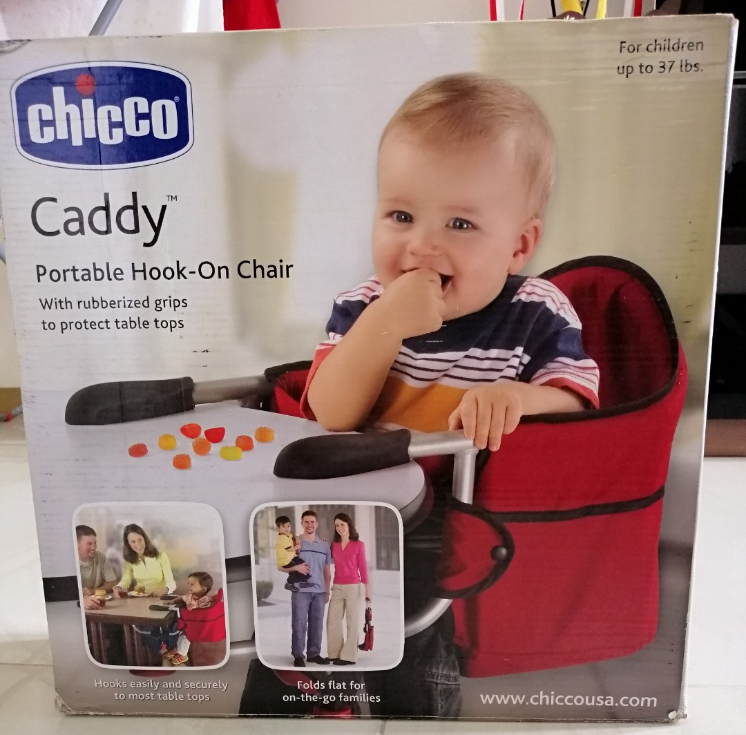 8bf2c3726d502 Chicco caddy portable hook-on chair
