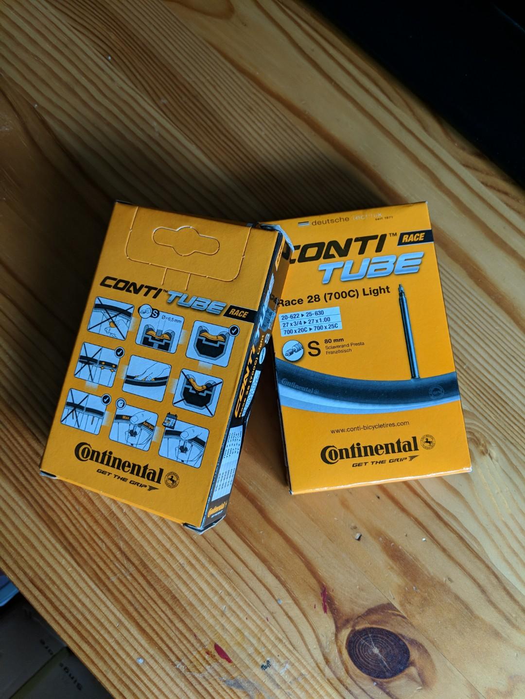 deba82319b7 Continental race light tubes 700c