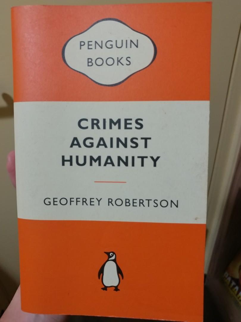 crimes against humanity robertson geoffrey