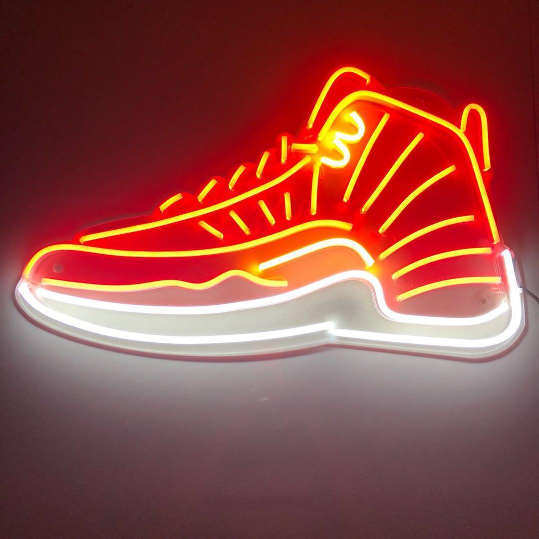 Custom LED neon light - shoes