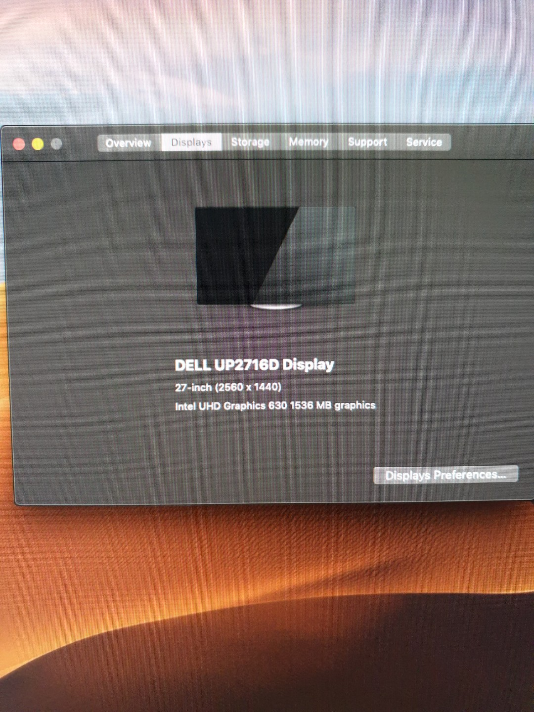 Dell Up2716d Display Monitor