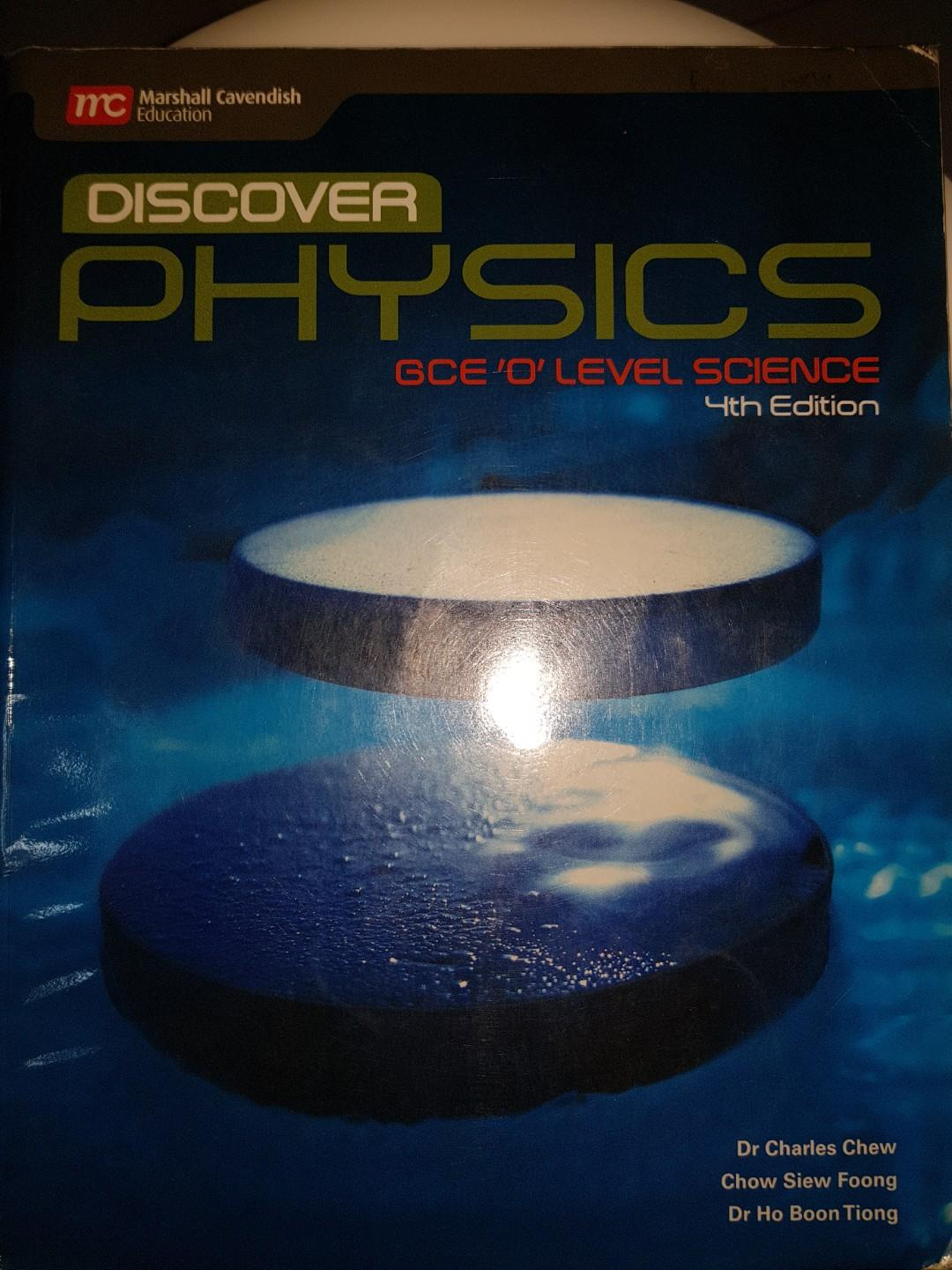 Discover Physics Textbook, Books & Stationery, Textbooks