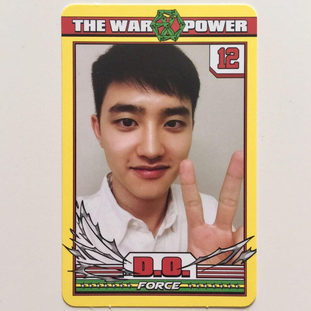 EXO The Power Of Music D.O. Kyungsoo Official Photocard