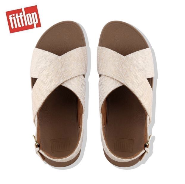 cc8adfad24bd Fitflop Lulu Mirage Back-Strap Sandals Urban White
