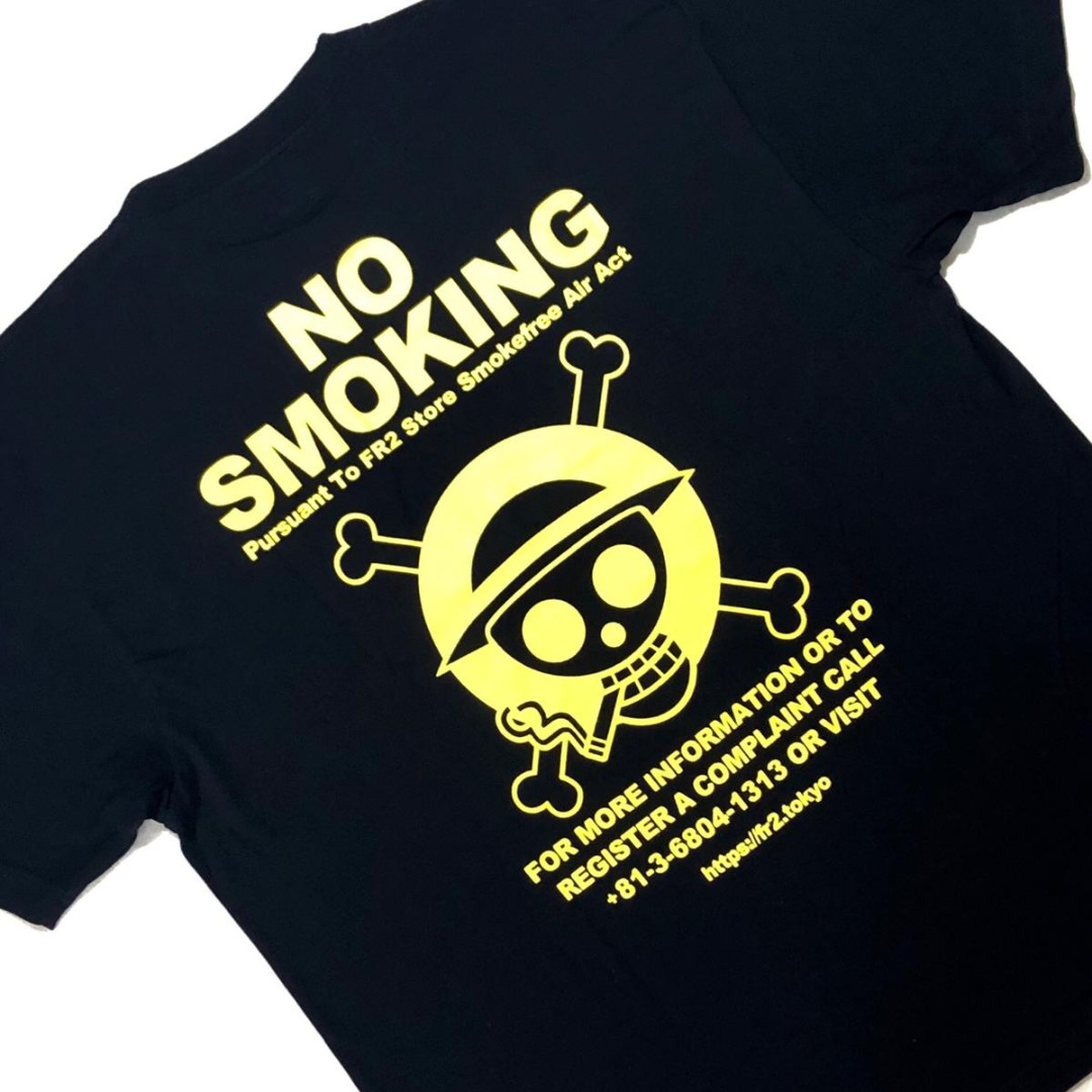 7502fb9e7562 FR2 X One Piece Smoking Kills Tee
