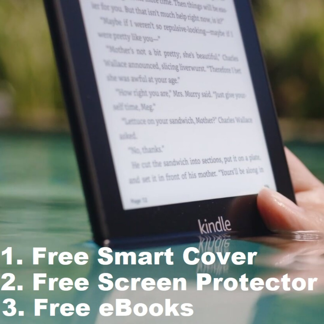 *FREE GIFTS* All New Kindle PaperWhite 4 2018