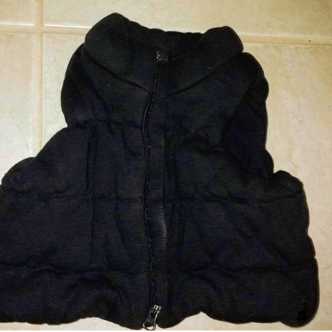 Gap Baby Navy vest 0-3 months