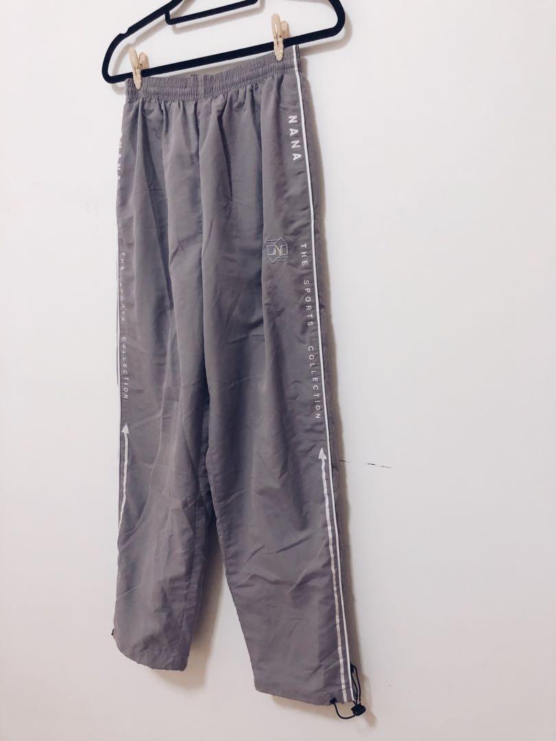 aba663f1fb96 Grey Winter Sports Track pants, Women's Fashion, Clothes, Pants ...