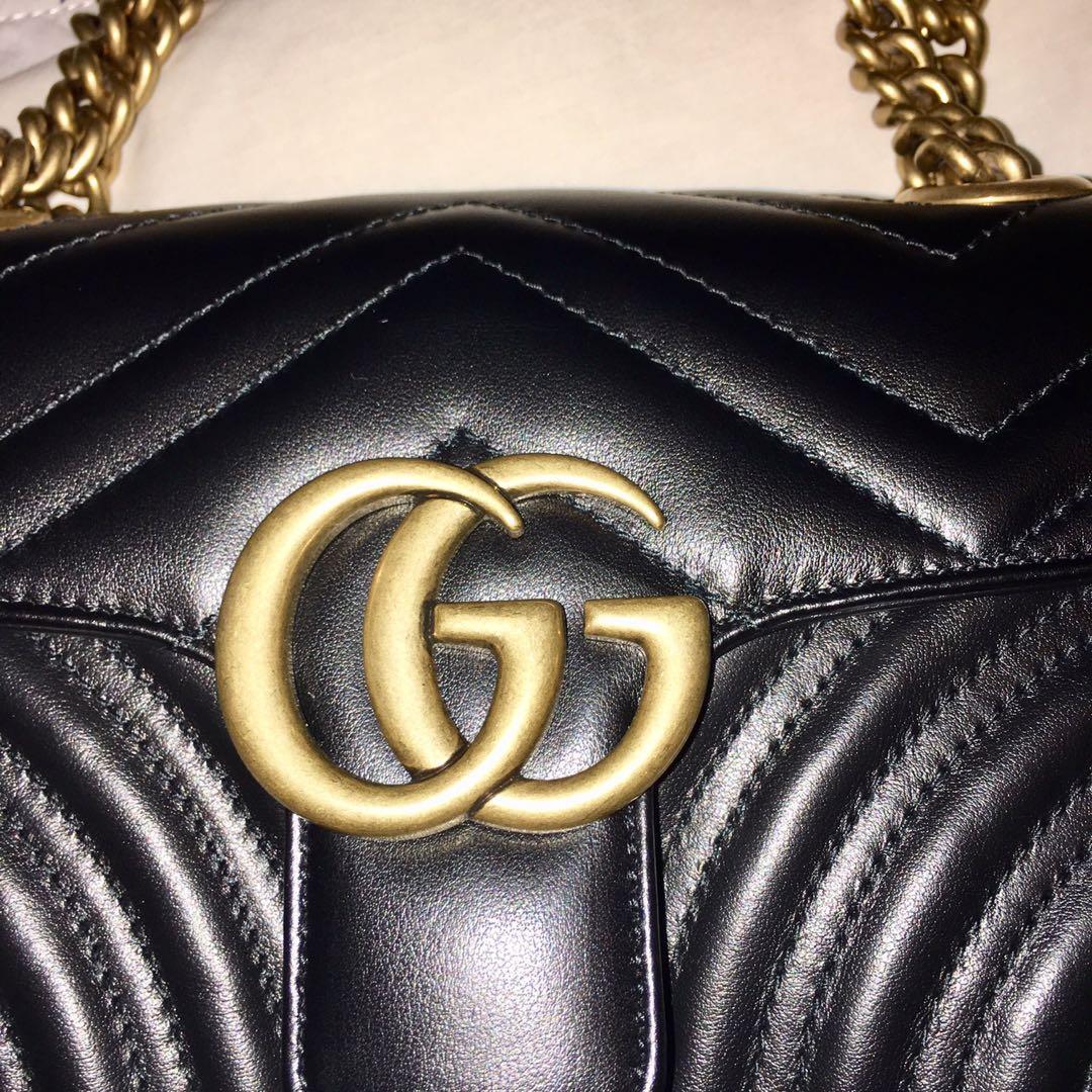 Gucci GG Marmont matelassé mini shoulder crossbody bag