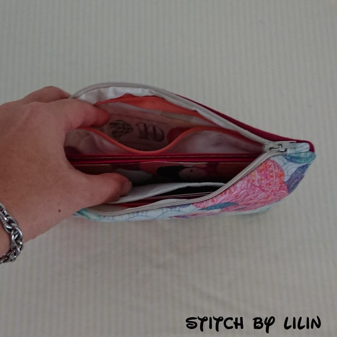 878d791c613f Handmade auspicious koi ang pow carrier pouch holder organiser cny