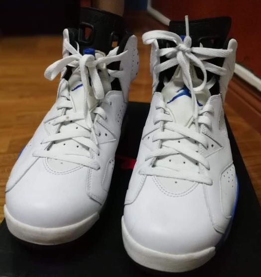 pretty nice 8a0ae 61479 Jordan 6 sport blue, Men s Fashion, Footwear, Sneakers on Carousell