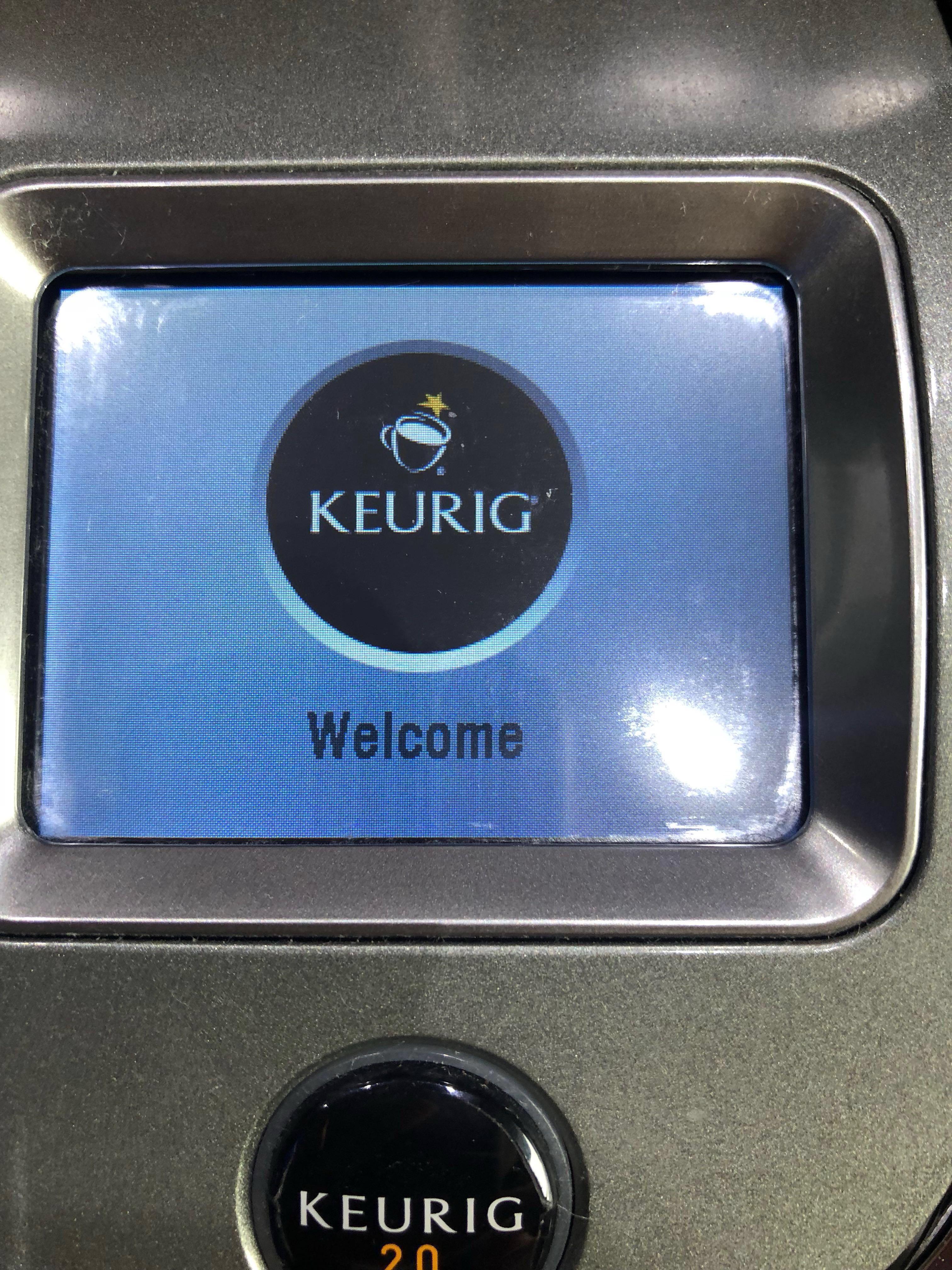 Keurig 2.0 with storage drawer