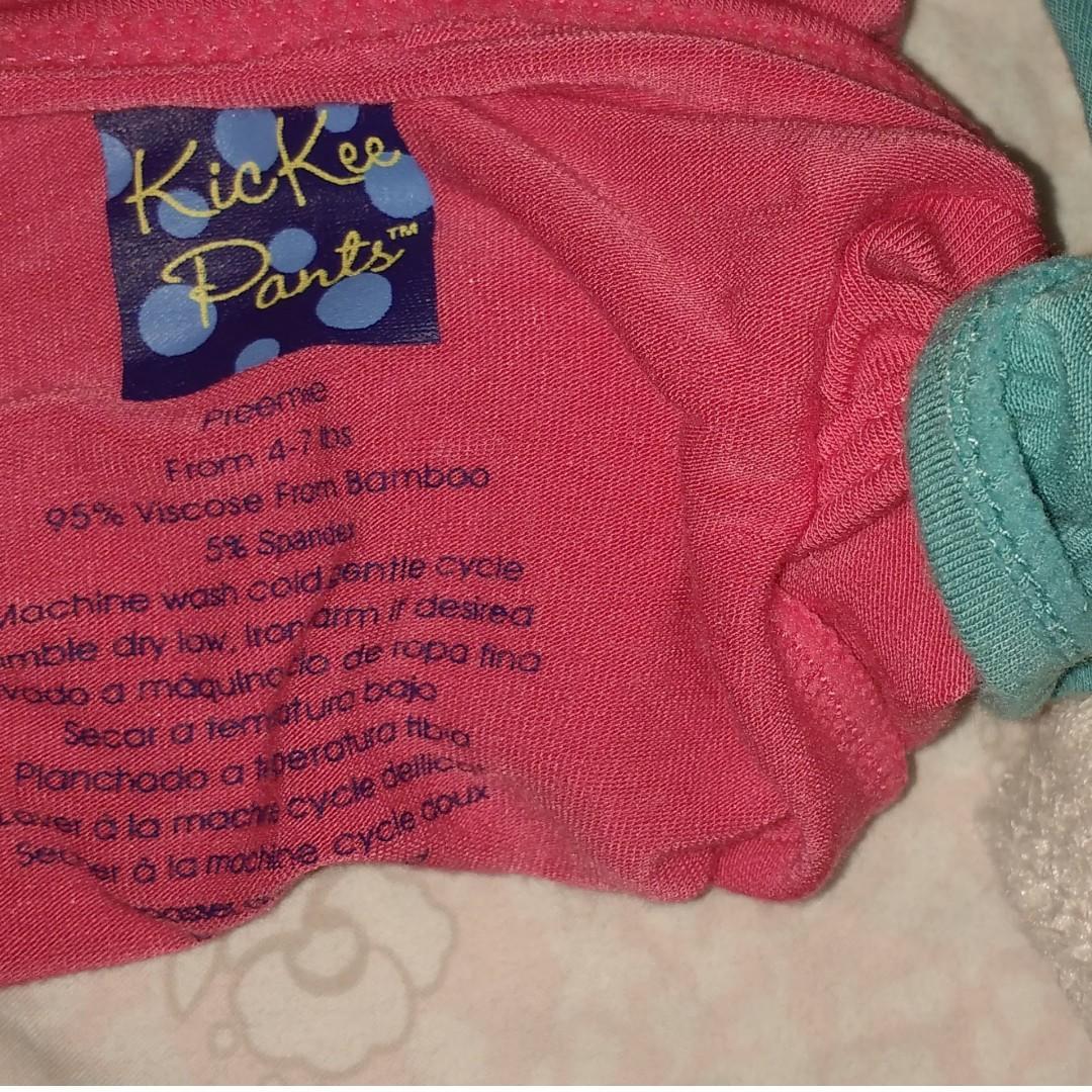 KicKee Pants preemie onesie and pants