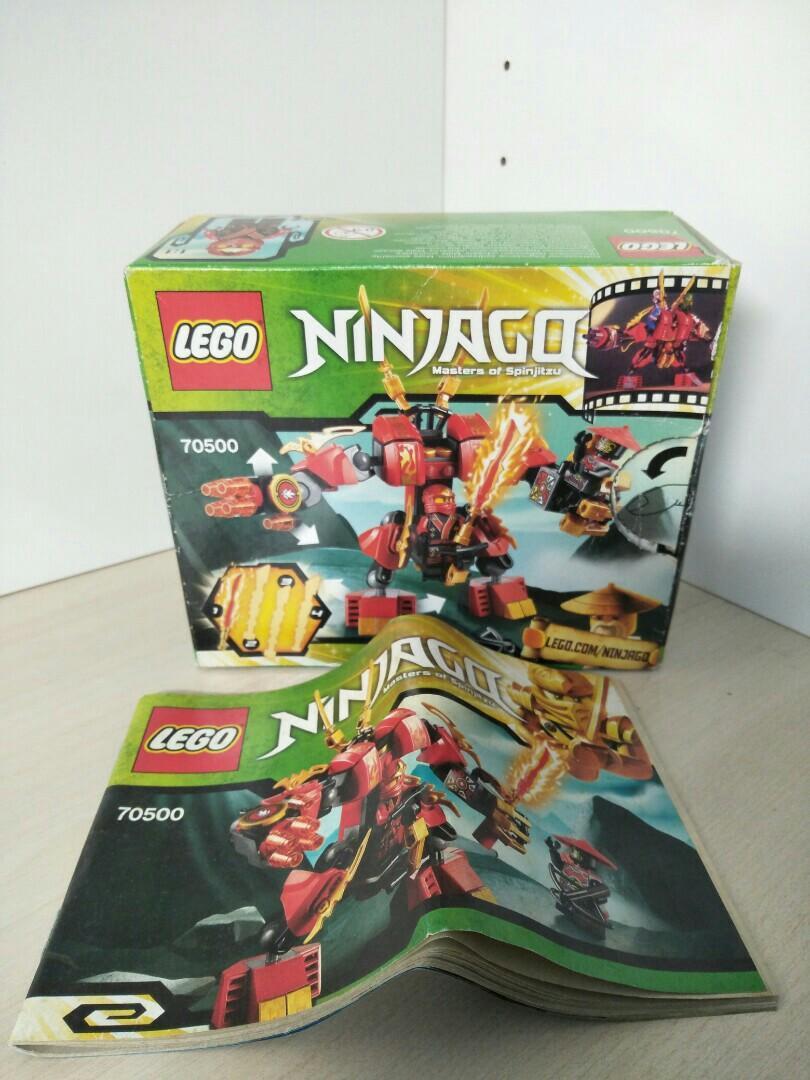 Lego Ninjago 70500 Kai's Fire Mech, Toys & Games, Bricks