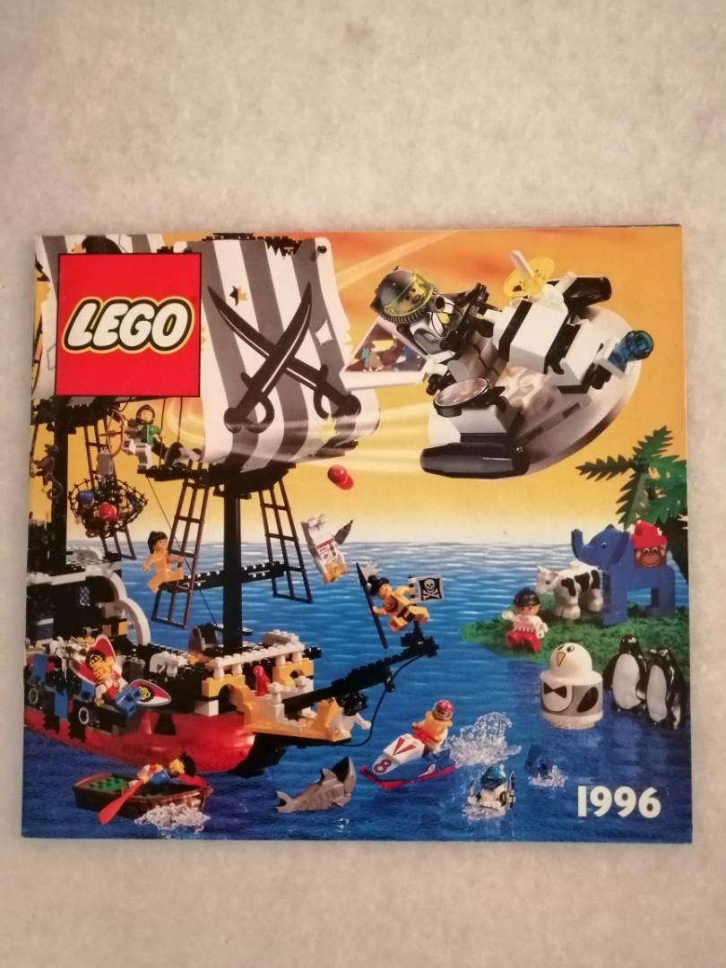 Lego Vintage Booklet Catalogue 1996 - 1998