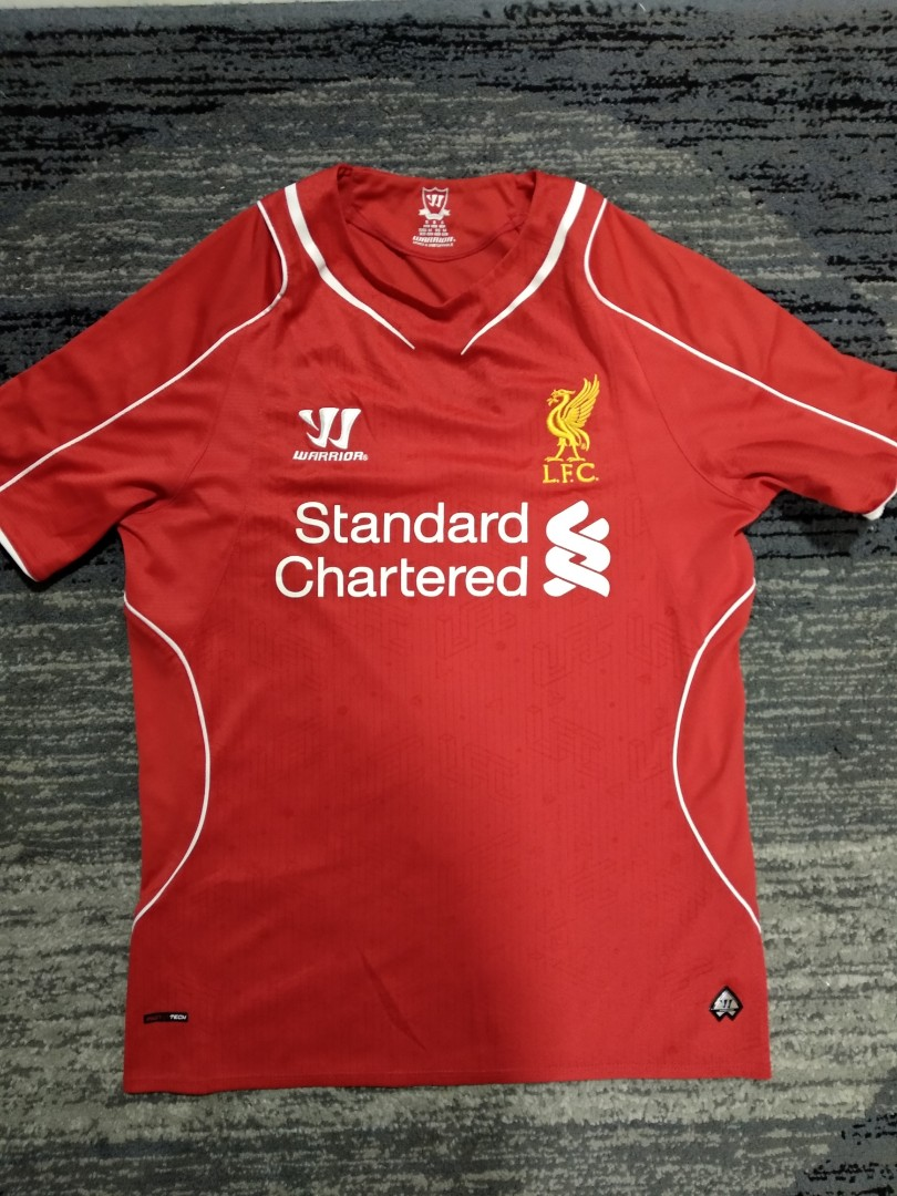 buy popular 58cf5 bc0ca Liverpool Jersey Home and Away