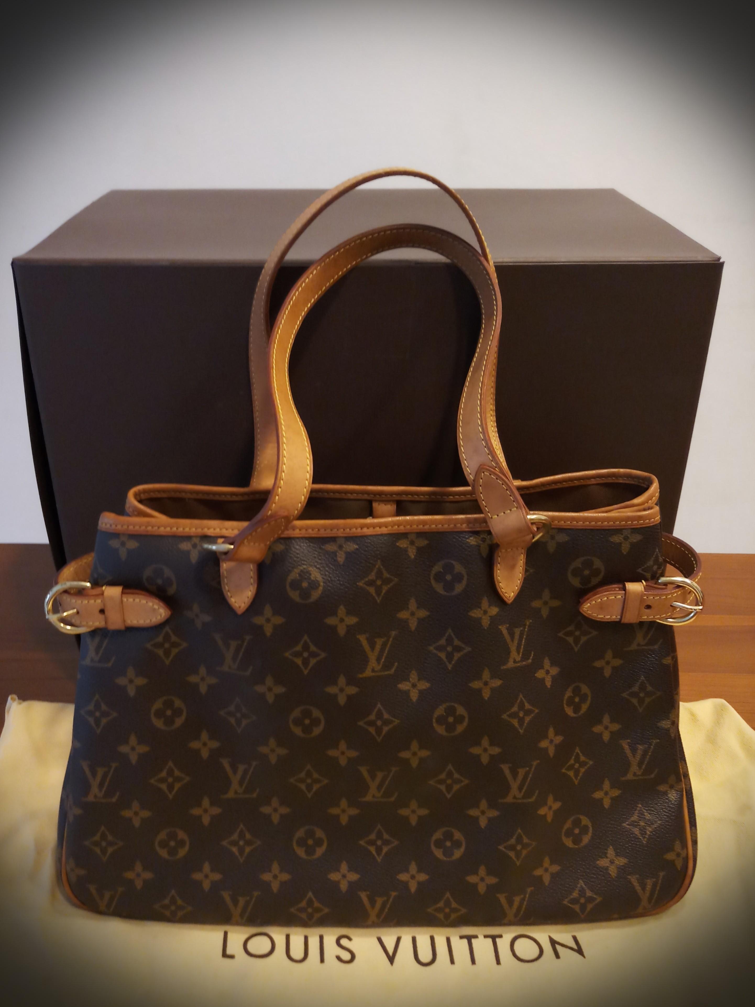LOUIS VUITTON Batignolles Horizontal Tote Bag Monogram M51154, Luxury, Bags    Wallets, Handbags on Carousell e3071530ed