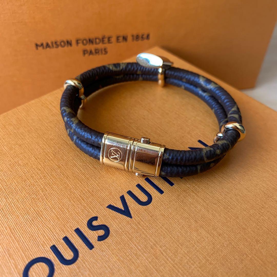 Louis Vuitton Monogram Double Bracelet