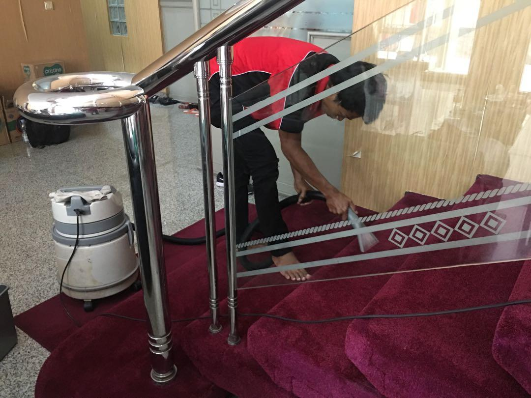 Loundry karpet kantor- sofa- kursi kantor- jok mobil- springbed