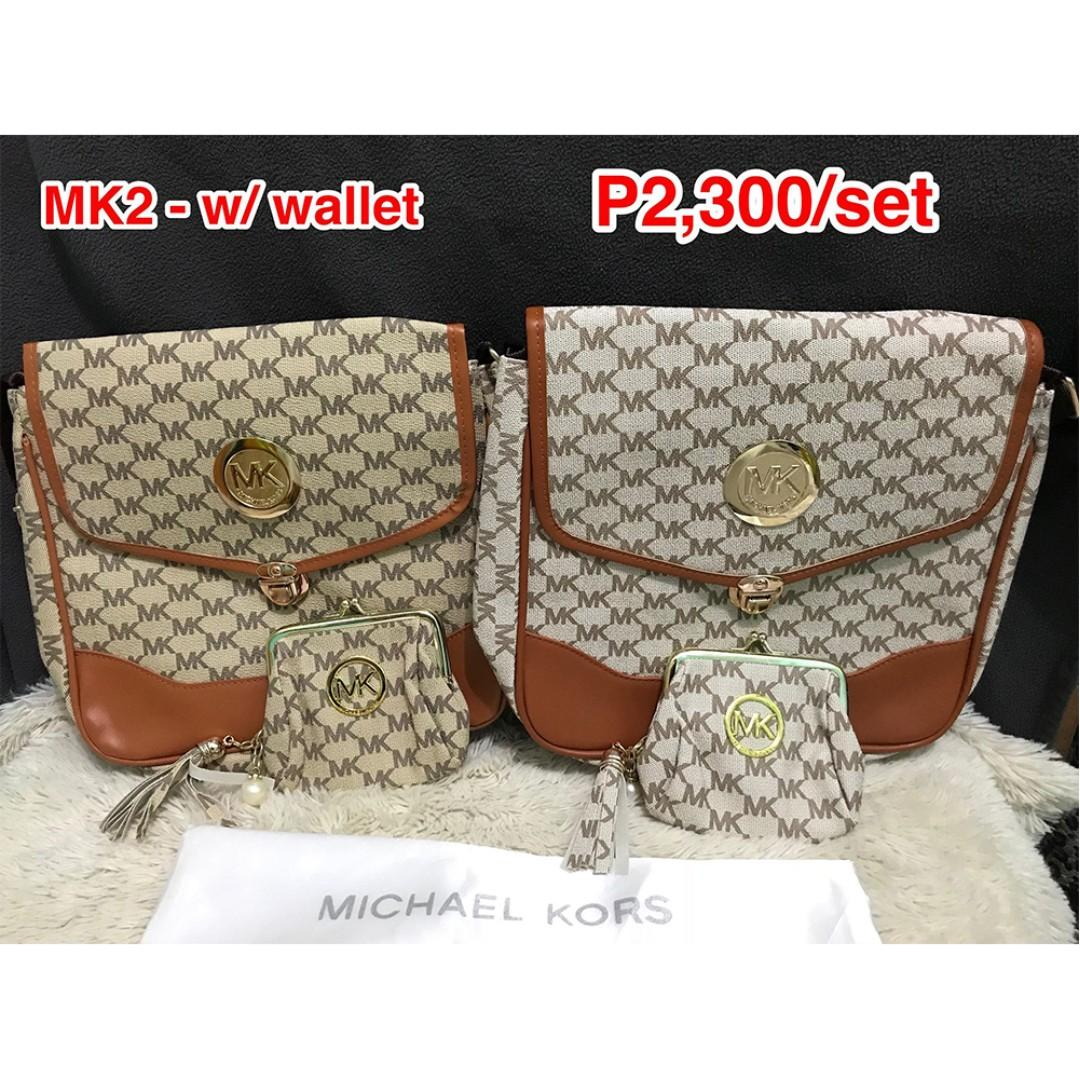2f60c0fc6b86d7 Michael Kors Bag with Wallet on Carousell