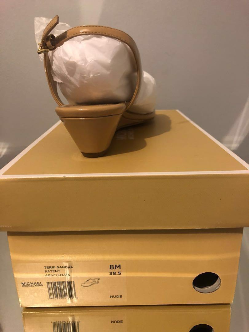 Michael Kors Nude Terri Sandal (size 8)