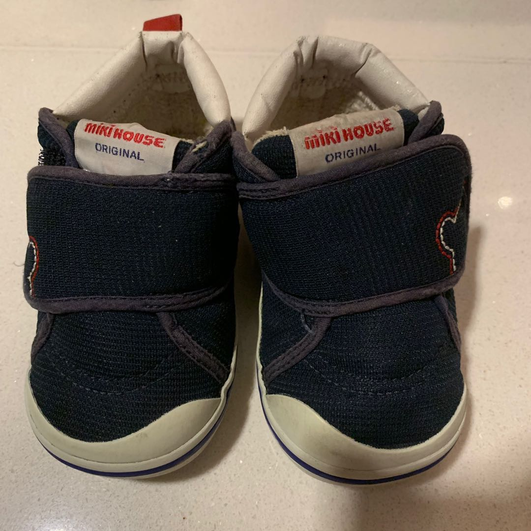 4b0b7c8b8bded Mikihouse Shoes Size 13.5 Blue color
