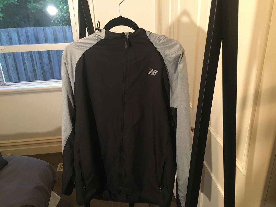 New Balance Reflective Spray Jacket Size M