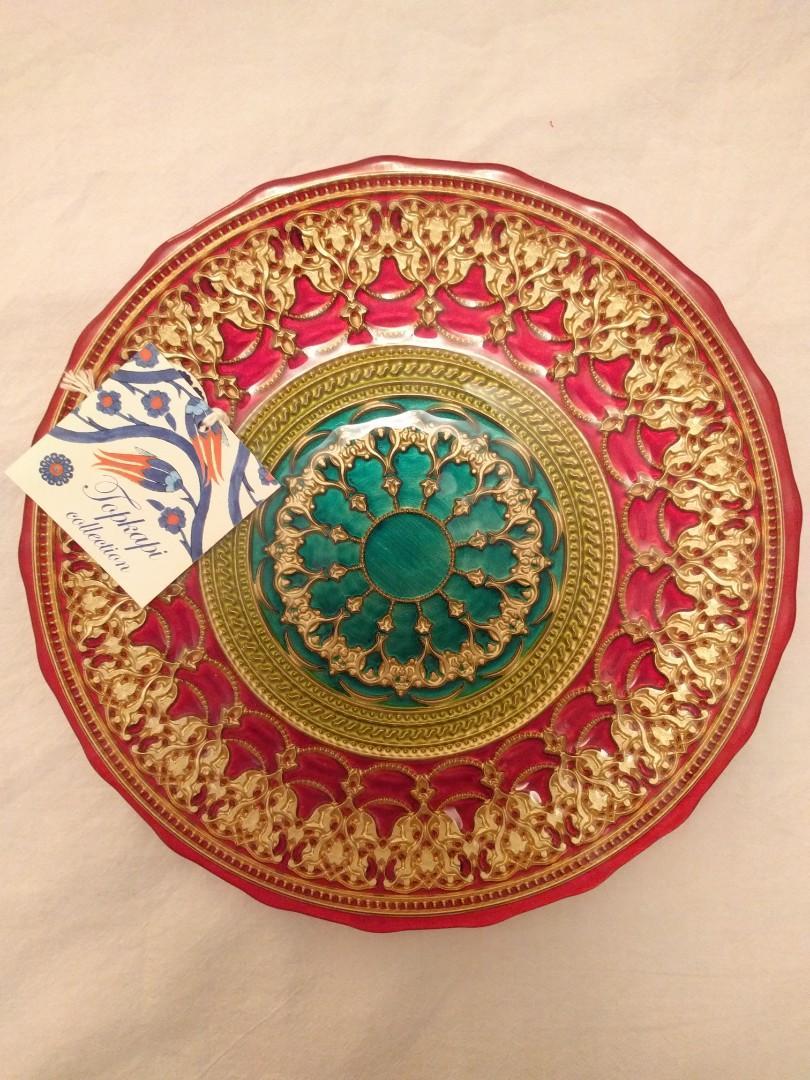 New, Unused Decorative Plate - Food Safe