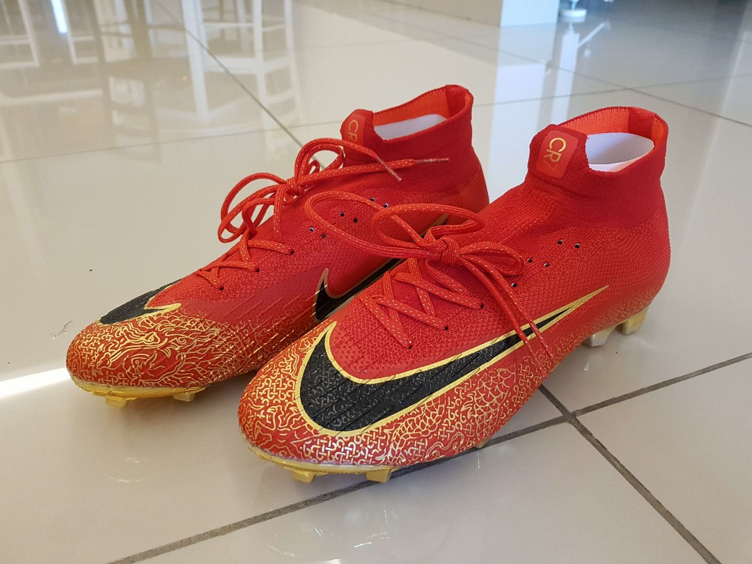d2e814badee8 Nike Mercurial SuperflyX VI 360 CR7 China Edition 2018, Sports, Other on  Carousell