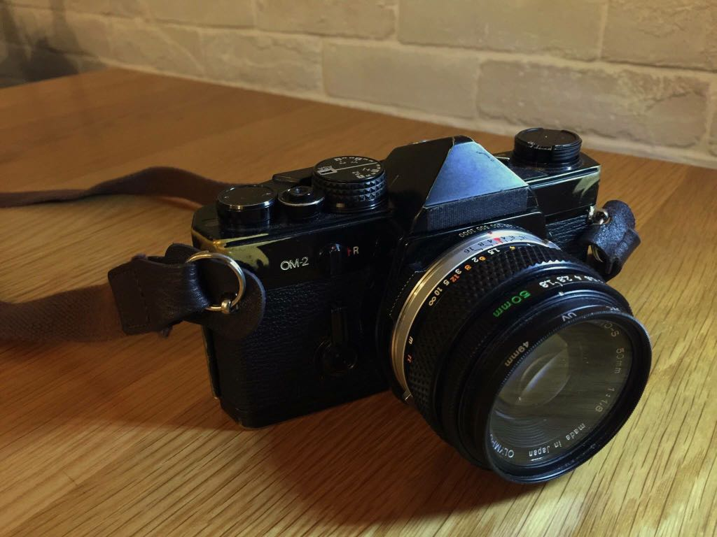 Olympus OM2 with 50mm F1 8 lens, Photography, Cameras