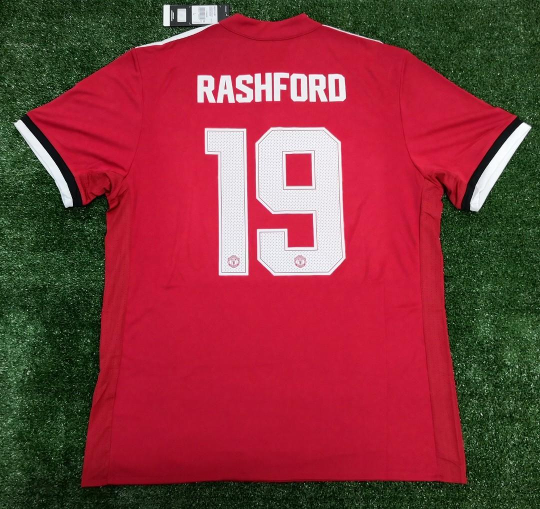 on sale 4e8d3 69ca3 Original Manchester United 17/18 jersey Rashford jersi Man Utd