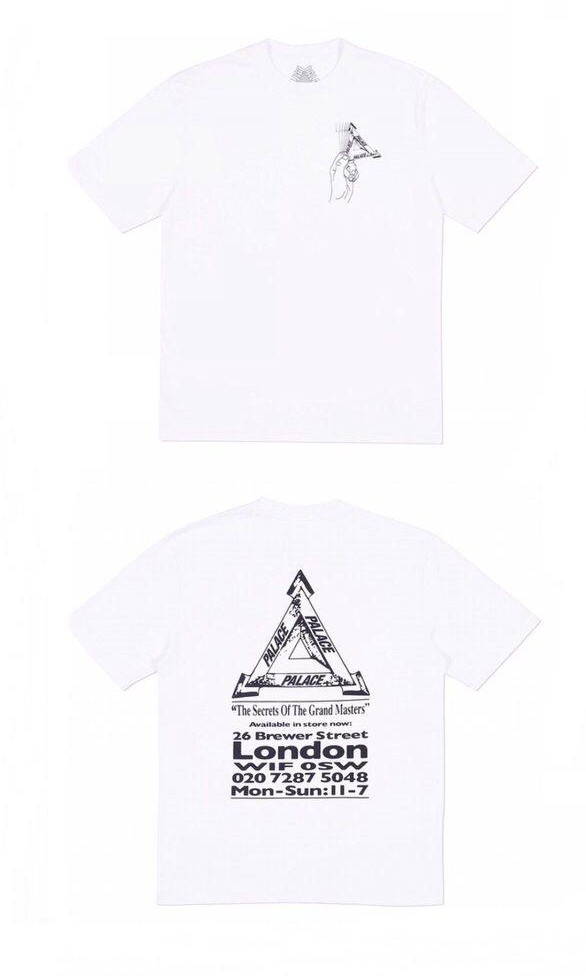 0637fd11 Palace Grandmaster T-shirt, Men's Fashion, Clothes, Tops on Carousell