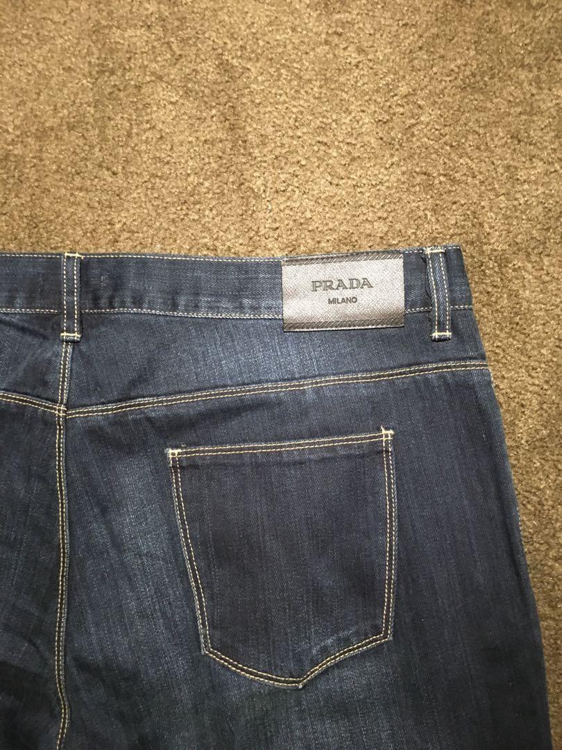 Prada Mens Jeans Size 38
