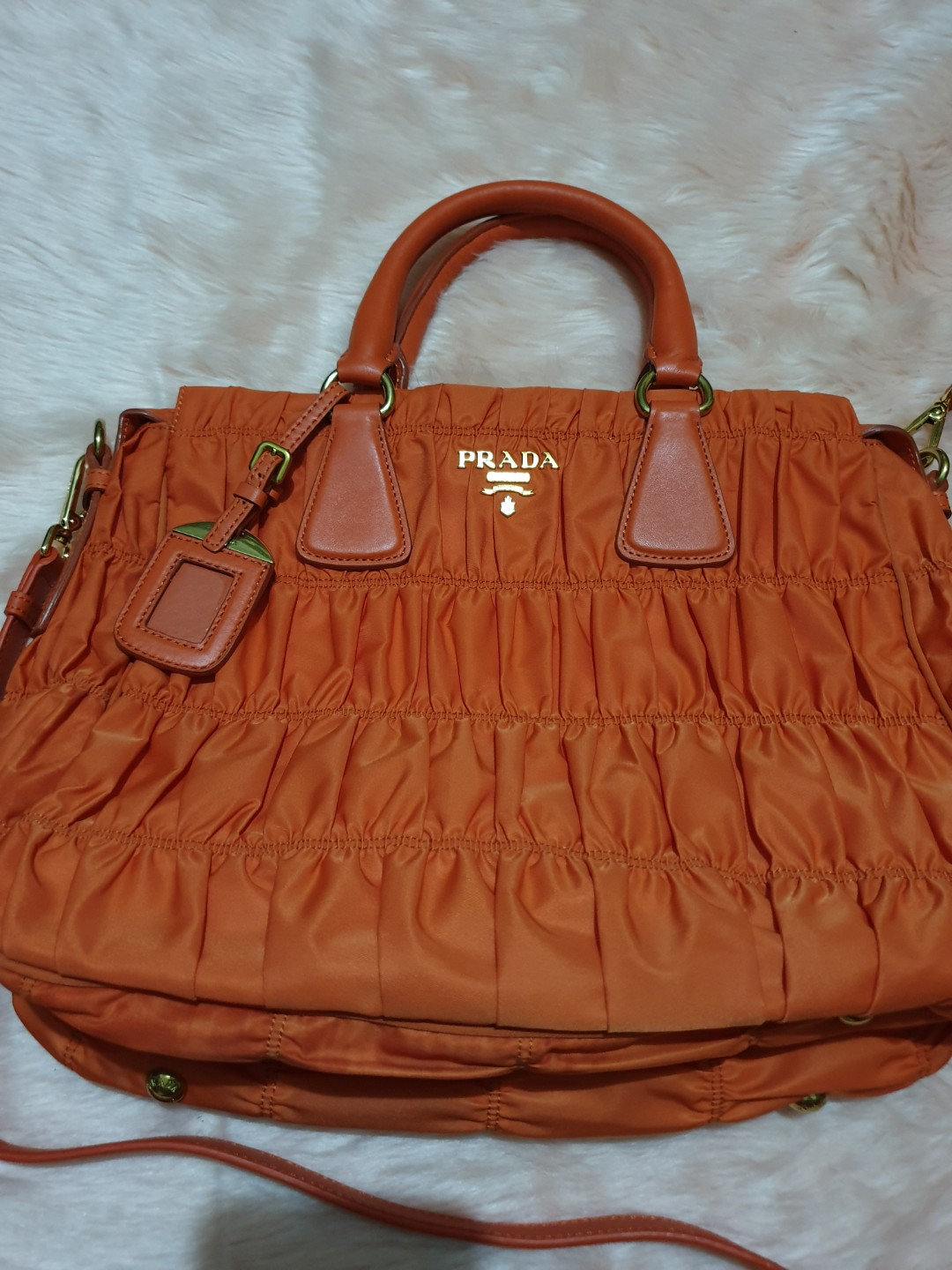 e93fabd0acd1 SALE!!! Prada Tessuto Gaufre Tote from 5500, Luxury, Bags & Wallets ...