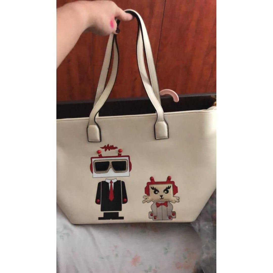 6f6c75bcf87fe Princess Sissi White Large Tote Bag for Sale