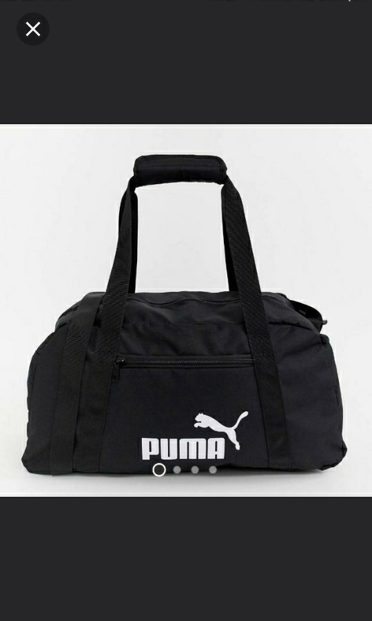 ab000b745b9 💯✓Puma Duffle Gym Bag, Sports, Sports & Games Equipment on Carousell