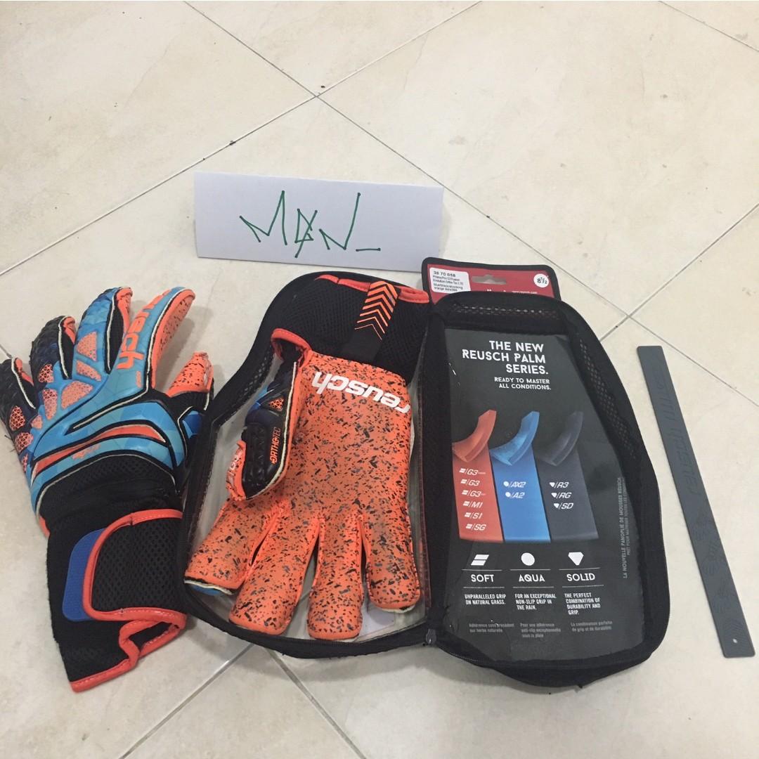 Reusch Prisma Pro G3 Fusion Evolution Ortho-Tec Goalkeeper Gloves ... 719784cc73