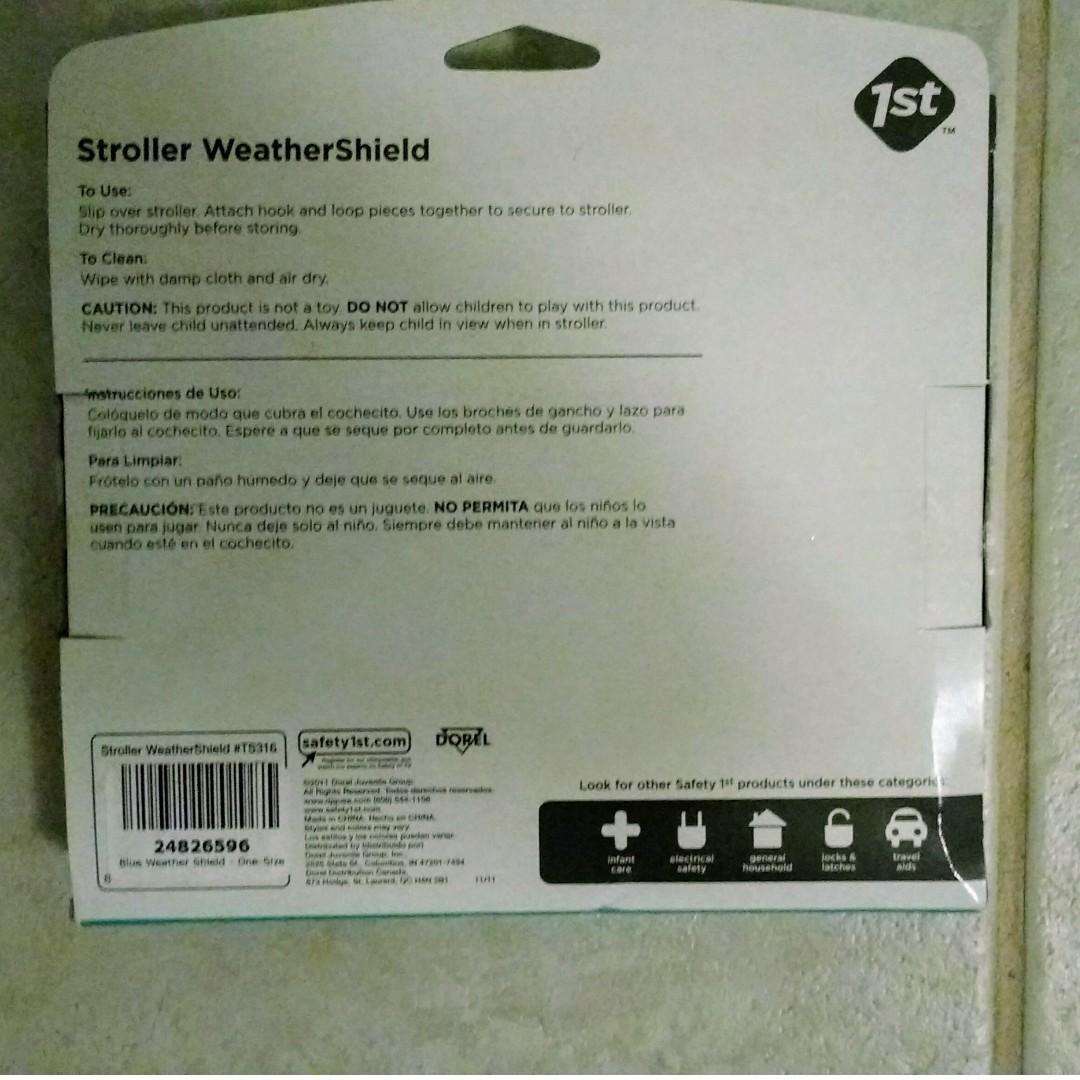Safety 1st stroller weather shield
