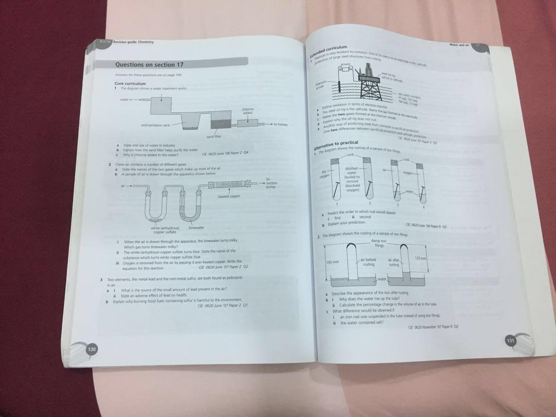 Sale! IGCSE Chemistry Revision Guide #SUBANGJAYASWAP
