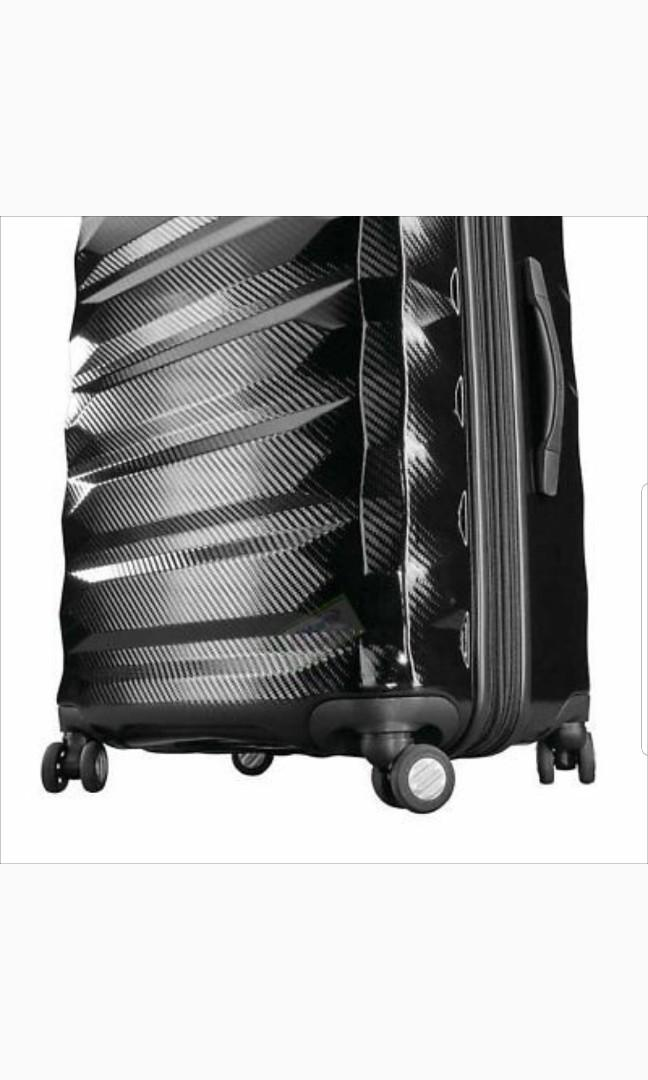 Brand new 2pieces of Samsonite Flylite DLX Luggage sets, HARDSIDE, Dual Spinner, Expandable