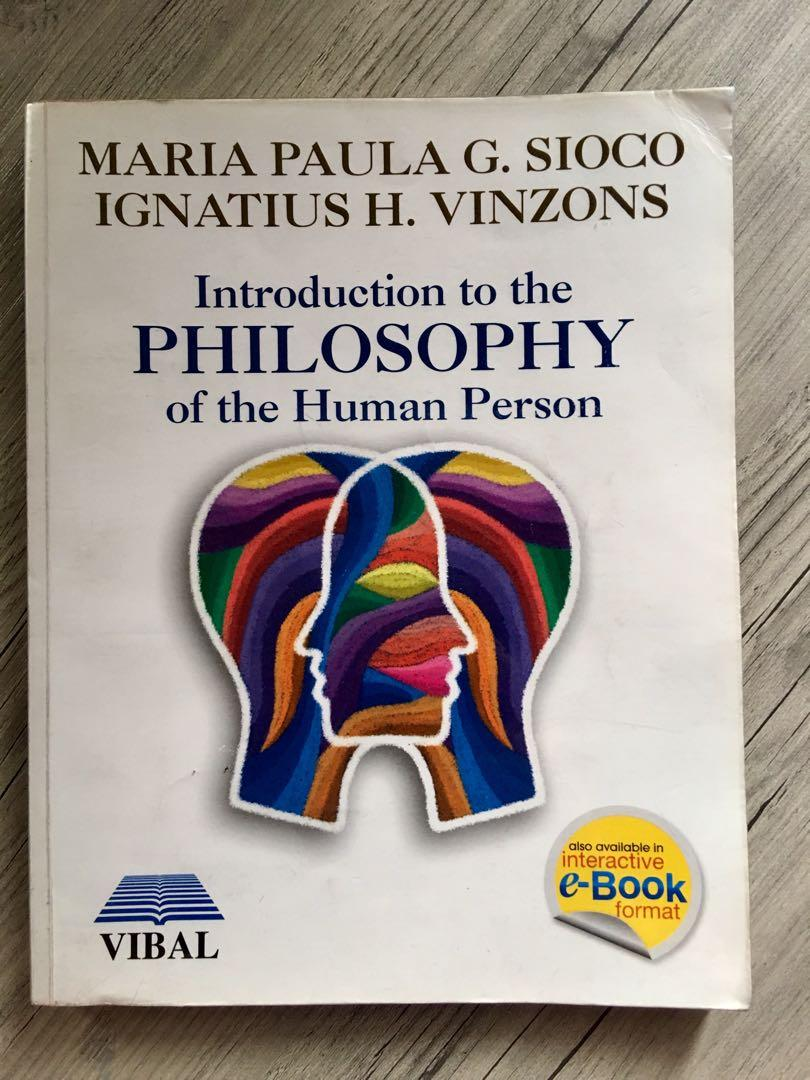 Senior High School SHS Introduction to the Philosophy of the Human Person