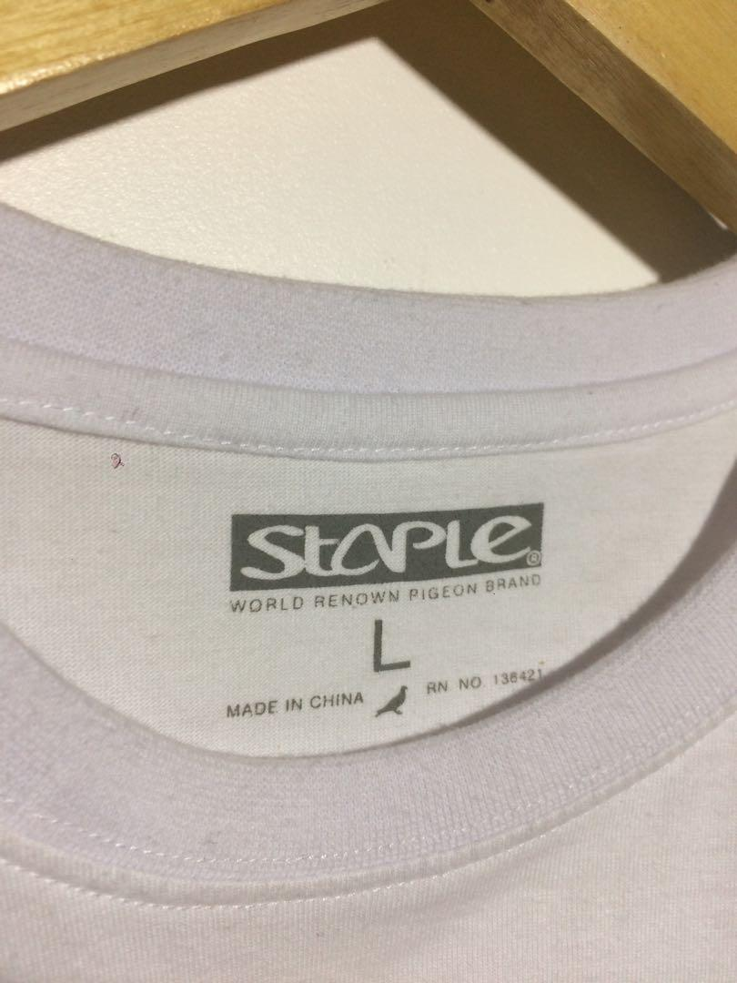 Staple dot camo pigeon t-shirts