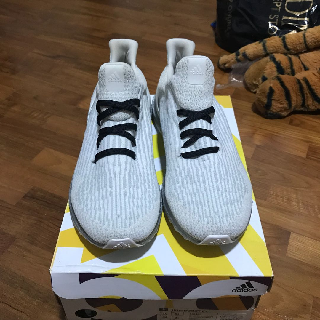 61fa2339f83 Steal Deal  Adidas Ultra Boost Custom Uncaged Clear White