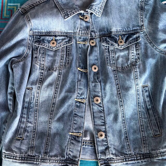 c5f6a3f248 target denim jacket, Women's Fashion, Clothes, Outerwear on Carousell