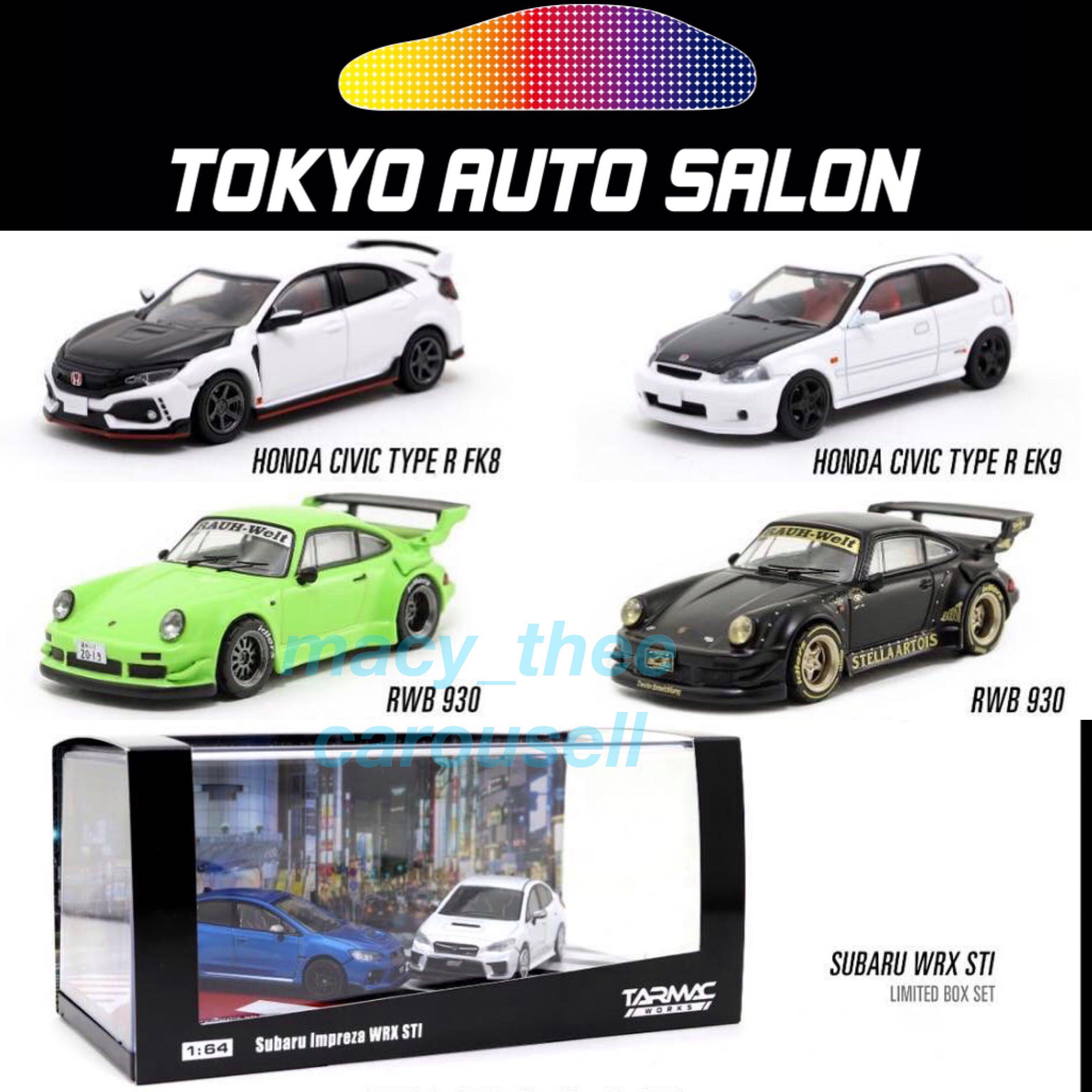Tarmac Works Tokyo Auto Salon 2019 Model Honda Civic Type R